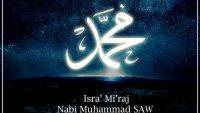 Isra Mi'raj Nabi Muhammad SAW